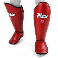 SP5 Fairtex Red Shin Pads